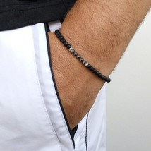 2019 New Fashion Men Bracelet Simple Classic Beads Accessories Charm Bra... - $9.30
