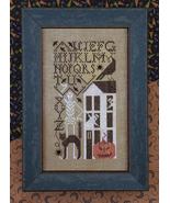 Simply Scary halloween cross stitch chart Drawn Thread - $8.10