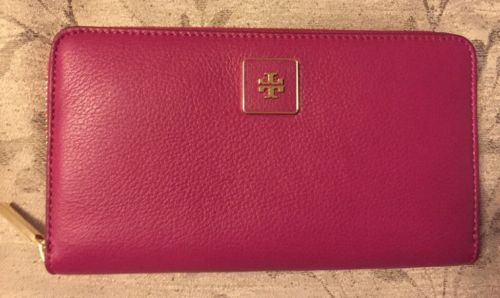 c858ee418d54 NWT Tory Burch Pebble Leather Clara Zip and 50 similar items. 12