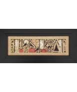 Trick or Treat cross stitch chart Drawn Thread - $9.90
