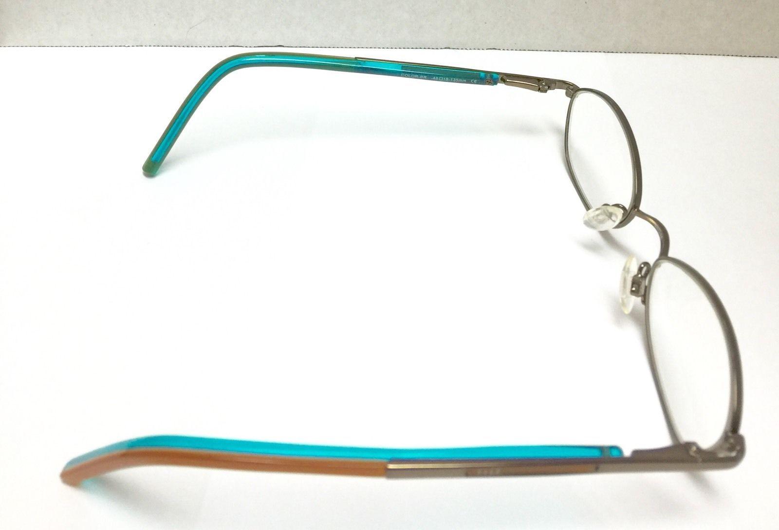 c858e14f84 ELLE Prescription RX Eyeglass Silver Metal and 50 similar items