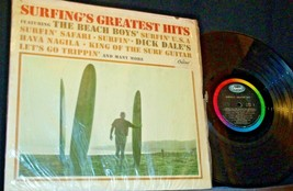 Surfing's Greatest Hits Capitol Record T1995 AA-192005 Collectible image 1