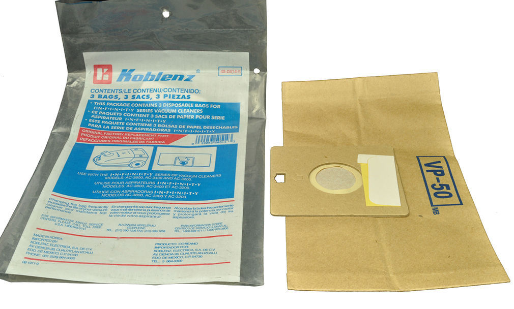 Primary image for Koblenz Infinity Canister Vacuum Cleaner Bags