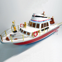 Ocean Star Trawler 6ch RC Boat Twin Motors 1/28 - $65.00