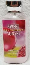 Bath Body Works Sweet Summer Sunset Shea Vitamin E Body Lotion 8 oz/236mL New - $11.73