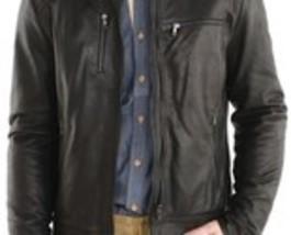 Handmade Mens fashion Leather Jacket, Men leather jacket, bomber leather... - $169.00