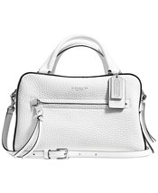 COACH Women's Bleecker Small Toaster Satchel In... - $295.02