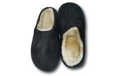 Furry Plush Adult Shoes Slippers – Black color – 28cm - €8,76 EUR