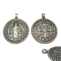50pcs of 1.5 Inch Blessed Saint Benedict San Benito Jubilee Medal Pendant - $27.09