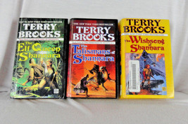 Terry Brooks Shannara Series Hardcover Library Copy Book Lot  - $19.99