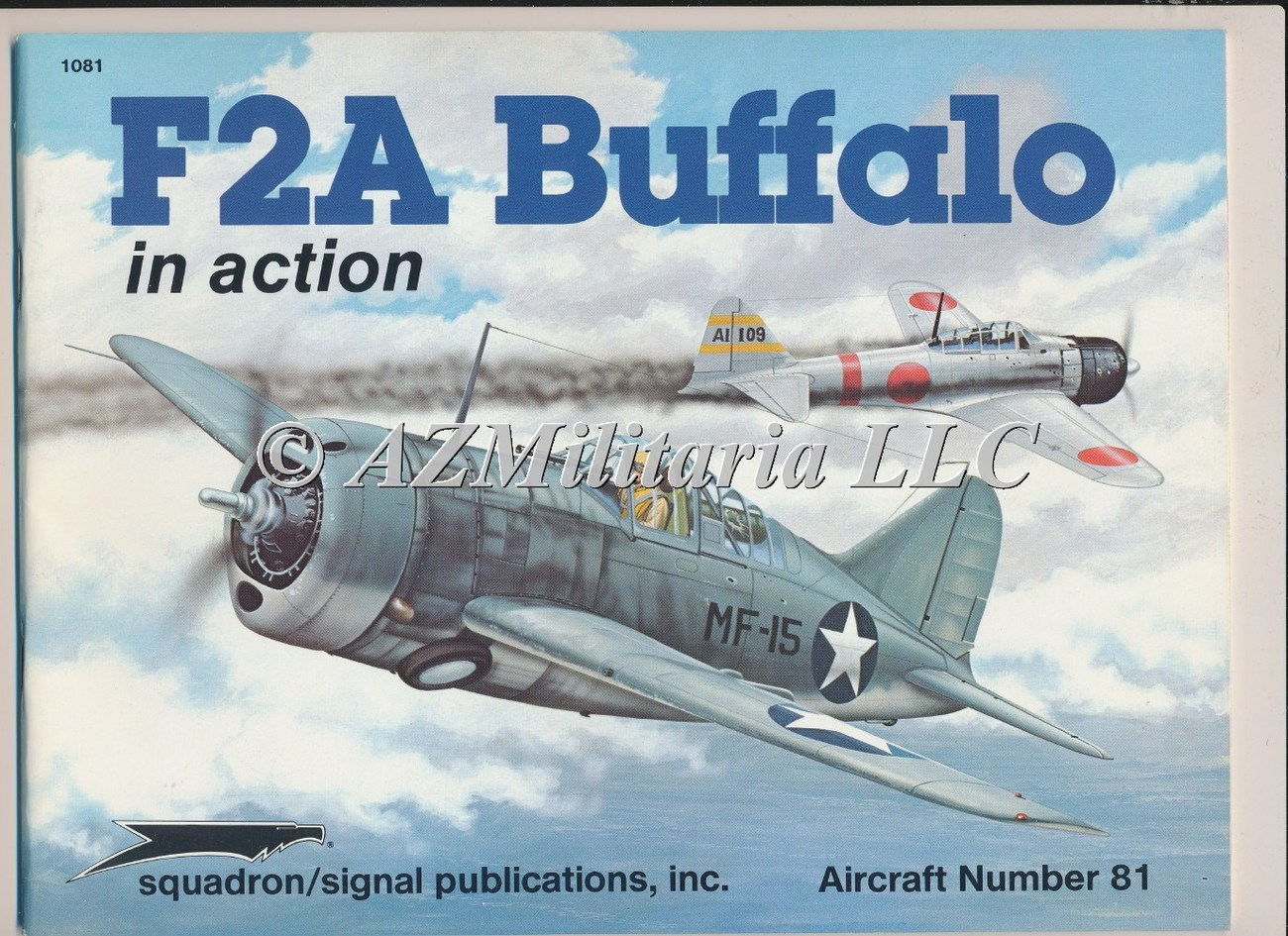 F2A Buffalo In Action Aircraft No. 81