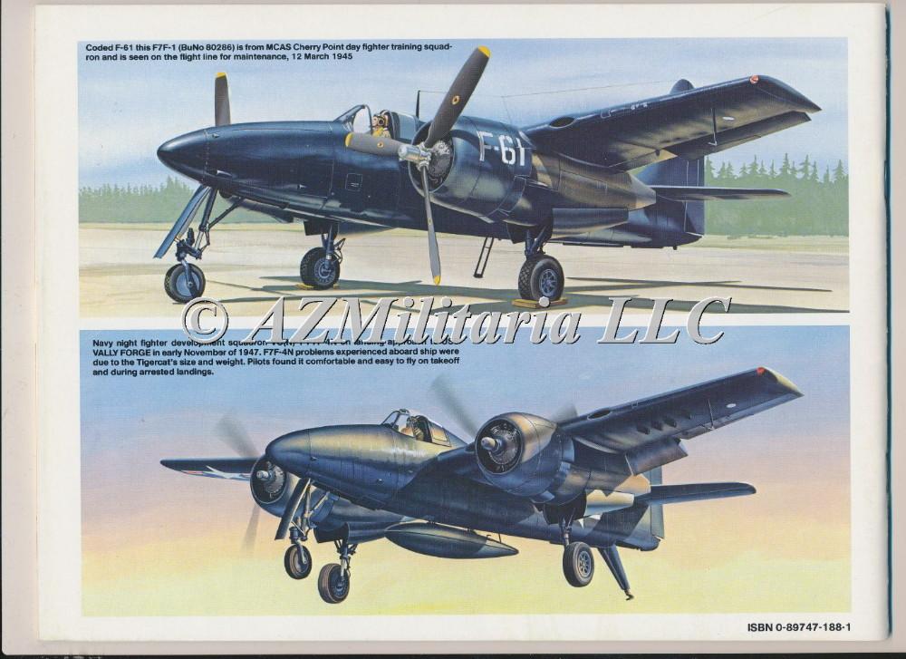 F7F Tigercat In  Action Aircraft No. 79