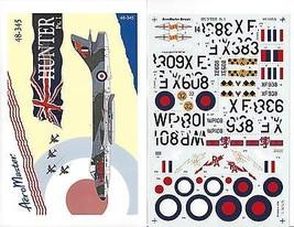 AEROMASTER  1/48  (48-345)  HUNTER  -  PART 1 - $9.20