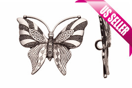 licorice charm beads Patterned butterfly Licorice charms Regaliz style a... - $2.77