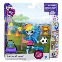 My Little Pony Rainbow Dash School Pep Rally playset Equestria Girls mnis - $12.99