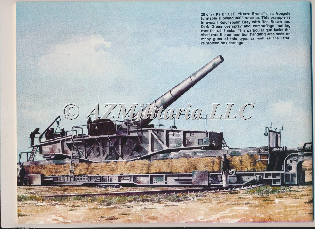 German Railroad Guns In Action Armor No. 15