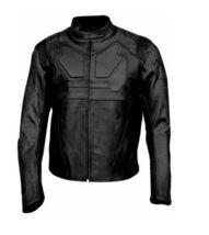 Men Black Tom Cruise Oblivion Motorbike Leather Jacket With CE Protectio... - $169.00