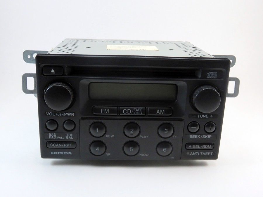 1998 2005 honda radio cd player civic odyssey prelude. Black Bedroom Furniture Sets. Home Design Ideas