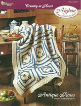 Needlecraft Shop Crochet Pattern 942050 Antique Roses Afghan Collectors ... - $4.99