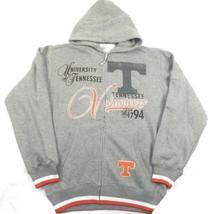 Medium Men's Tennessee Vols Hoodie NCAA Half-Time Full Zip Sweatshirt Volunteers