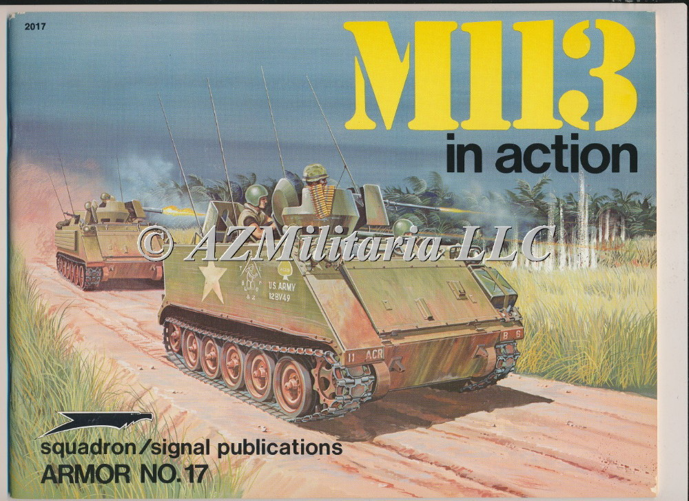 M113 In Action Armor No. 17