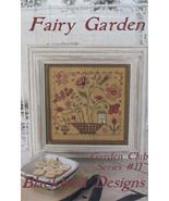 Fairy Garden #11 Garden Club Series cross stitch Blackbird Designs  - $8.10