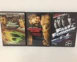 Lot Of 3 Paul Walker DVDs Running Scared, The Fast And The Furious A3 Ships Free