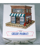 1991 Hand-Painted Miniature Building, Americana Collection, Geller's Pha... - $1.95