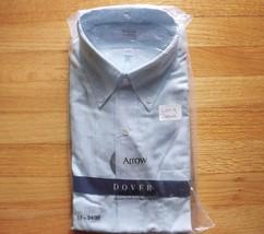 Vintage Arrow Cotton Dress Shirt Long Sleeve Green Plaid Button up XXL 1... - $28.00