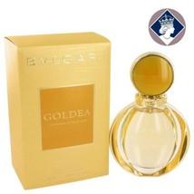 Bvlgari Goldea 90ml_3.oz Eau De Parfum Spray Perfume Scent Fragrance for... - $131.42