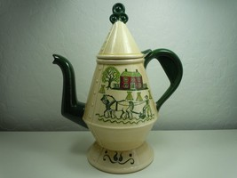 Metlox Poppytail Homestead Provincial coffee Pot and Lid Damaged - $9.89