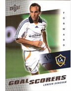2008 Upper Deck MLS Goal Scorers #GS19 Landon Donovan -Los Angeles Galaxy- - $3.00