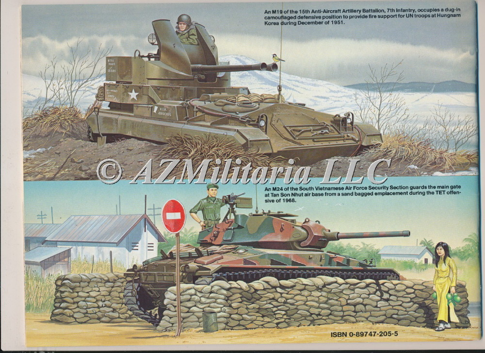 M24 Chaffee In Action Armor No. 25