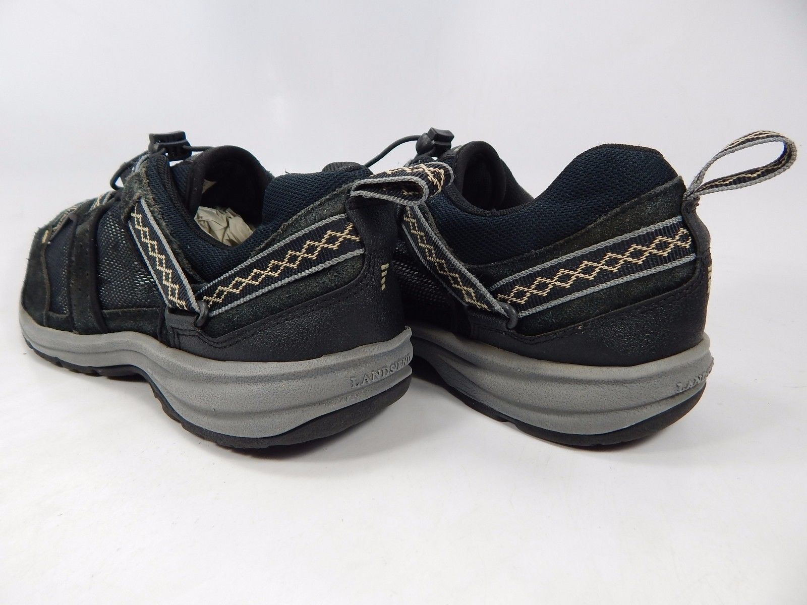 Land's End Men's Trail Hiking Athletic Shoes Size US 9.5 M (D) EU 42.5 Black