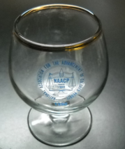 NAACP National Association for Advancement of Colored People Miniature Snifter - $7.99