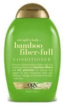 Ogx Conditioner Bamboo Fiber- Full 13 Ounce (384ml) (3 Pack) - $35.59