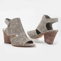 Vince Camuto Women Slingback Sandals Dachelle Size US 8.5W Storm Grey Suede - $39.94