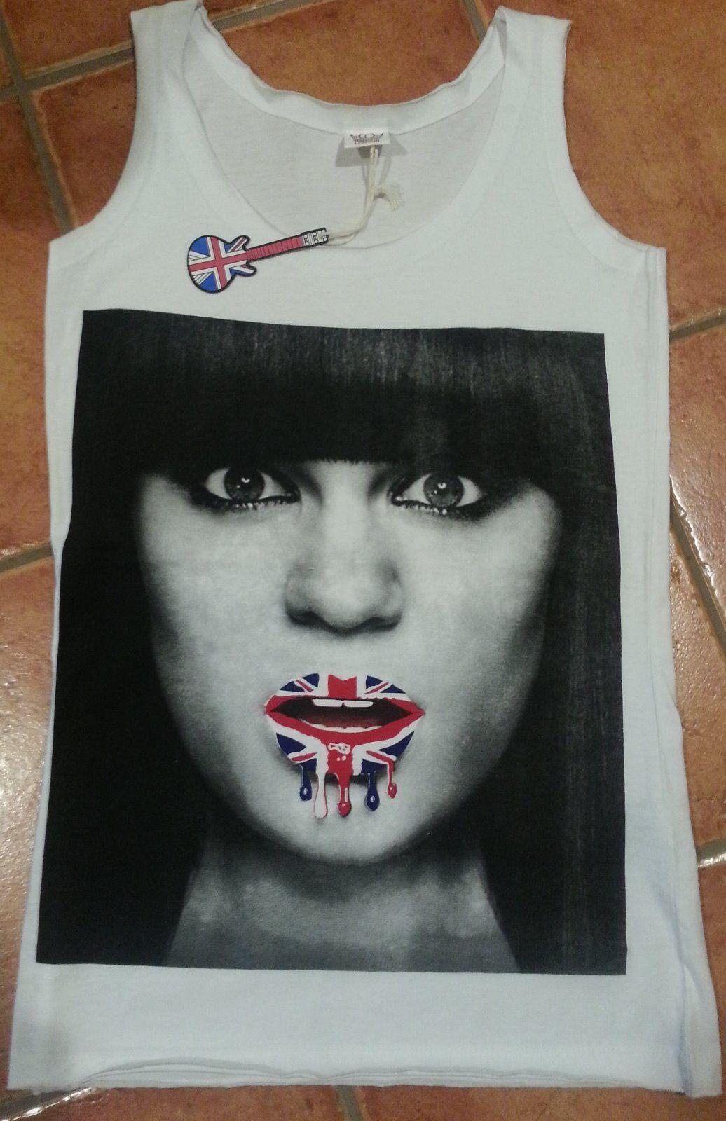 b28edda3501df4 Jessie J Womens Womens Tank Top White Cotton and 50 similar items