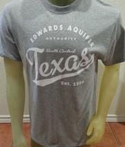 Edwards Aquifer 1996-2016 20th Anniversary Gray T shirt Central Texas Me... - $12.99