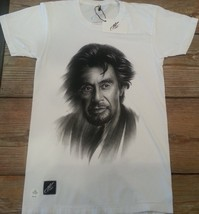 Al Pacino Power washed T shirt XS,S,M,L, XL American Apparel The Godfather - $11.99
