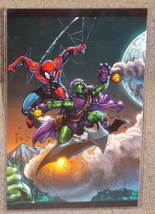 Marvel Spider-Man vs Green Goblin Glossy Print 11 x 17 In Hard Plastic S... - $24.99