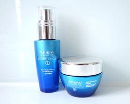 Avon Anew E-Defence / Skinvicible Set Day Cream, Night Cream, Full Size New - $29.69
