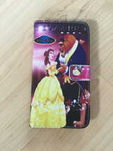 Princess Beauty And Beast Belle Leather Case Wallet For Samsung Galaxy S6 Edge + - $13.99