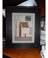 1864 House Sampler cross stitch chart by Chessie & Me   - $10.80