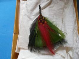 Feather Dangle Earrings-Vintage - $20.00