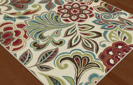 "5x8 (5'3"" x 7'3"") Contemporary Modern Transitional Floral Area Rug - $149.00"