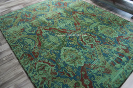 "8x10 (7'9"" x 9'9"")  Designer Nourison Timeless Oriental Turquoise Wool A... - $1,889.00"