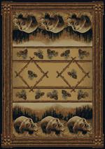 """8x11 (7'10""""x10'6"""") Lodge Cabin Rustic Bear Pine... - $359.00"""