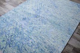 "9x12 (8'6"" x 11'6"") Nourison Gemstone Blue Aqua Teal Modern Coastal Area... - $1,979.00"