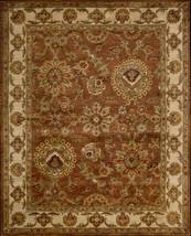 """6x9 (5'6"""" x 8'6"""") Nourison Jaipur JA-13 Rust Tr... - $769.00"""